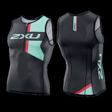 2XU Men's Custom Tri Singlet MX0011A