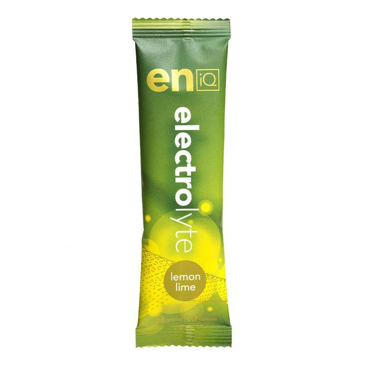 eniQ ELECTROLYTE – LEMON LIME (20gm Sachet)