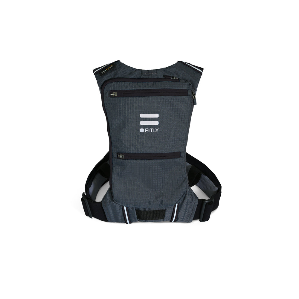 Fitly Innovative Running Pack : Classy Black