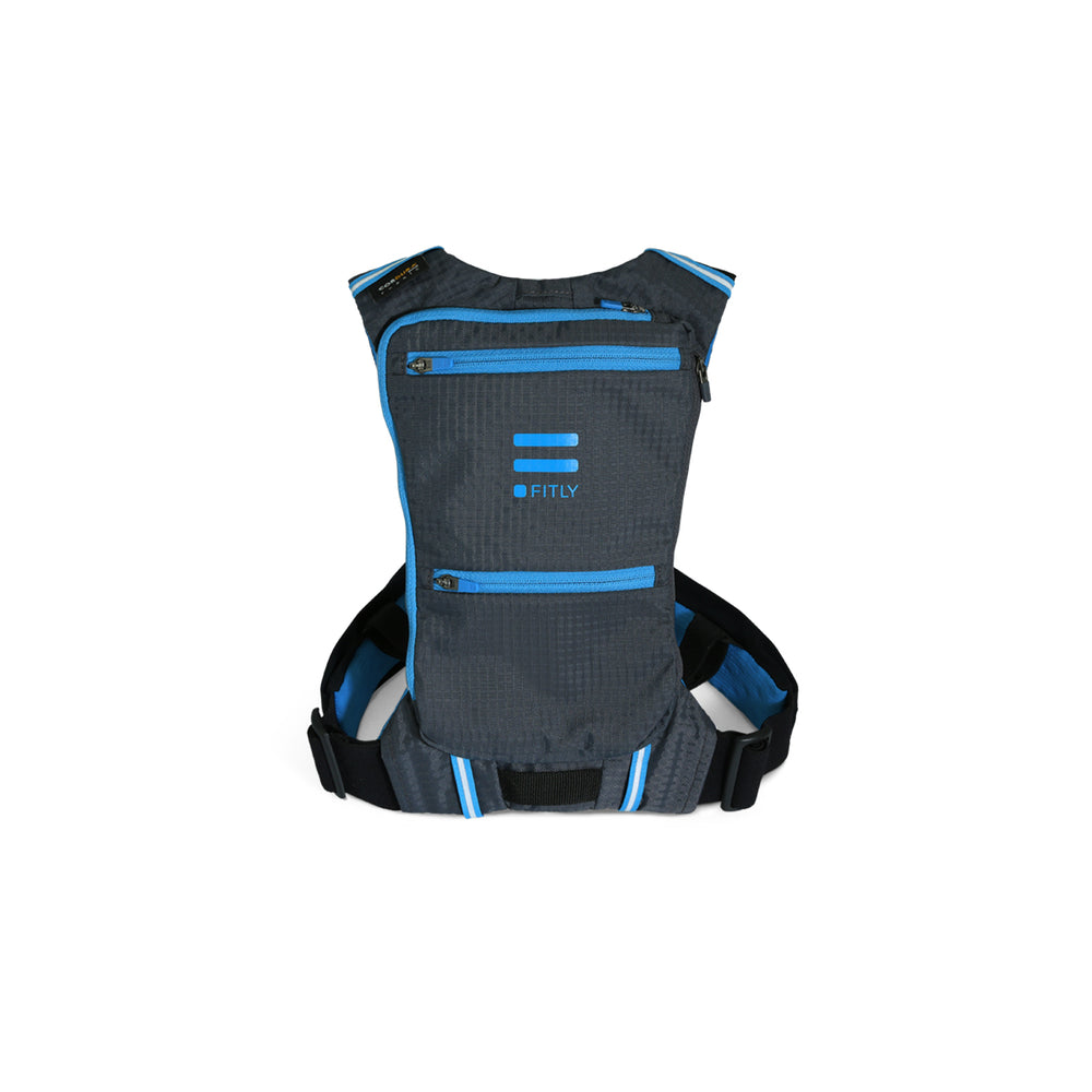 Fitly Innovative Running Pack : Emerald Blue
