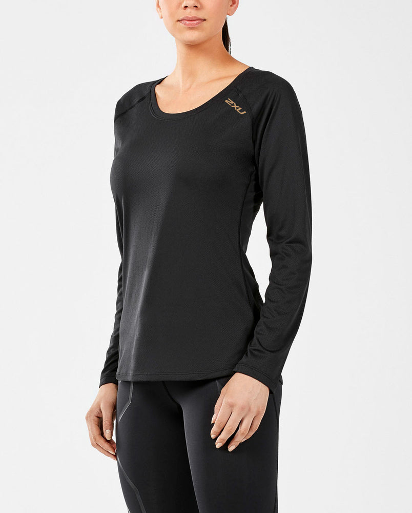 2XU Women's GHST L/S Top WR5120a