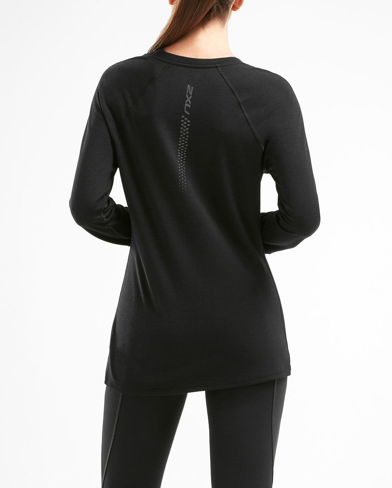 2XU Women's Heat Long Sleeve Run Top WR5204a