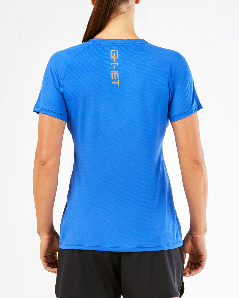 2XU Women's GHST Short Sleeve Top WR4273a