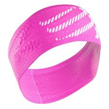 COMPRESSPORT ON/OFF HEADBAND - PINK (HB02-3430)