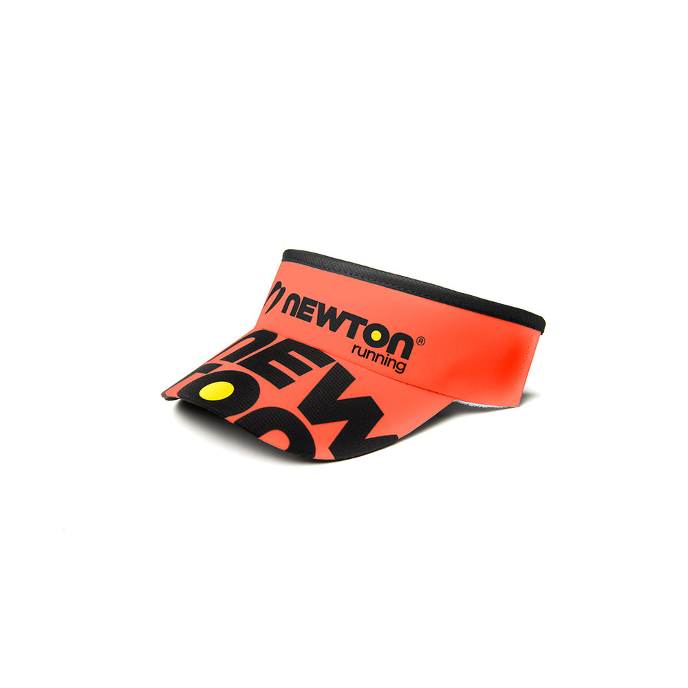Newton Headsweats Visor : Orange