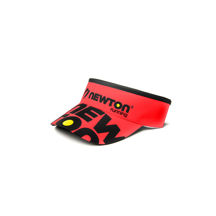 Newton Headsweats Visor : Red