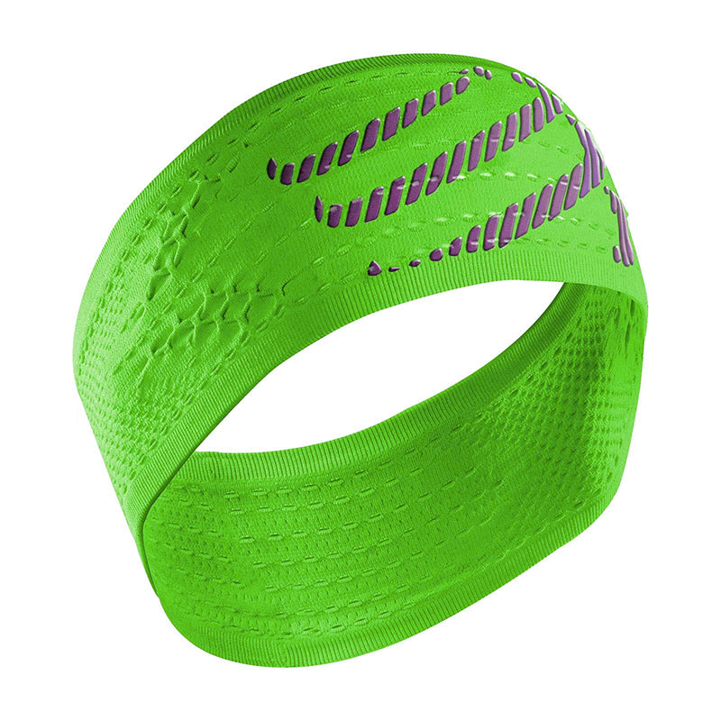 COMPRESSPORT ON/OFF HEADBAND - FLUO GREEN (HB6140)