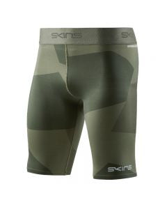 SKINS COMPRESSION DNAMIC PRIMARY MENS 1/2 TIGHT CAMO UTILITY