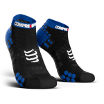 COMPRESSPORT PRO RACING SOCKS RUN LOW ASIA ( RSLV3-99BL-AS)