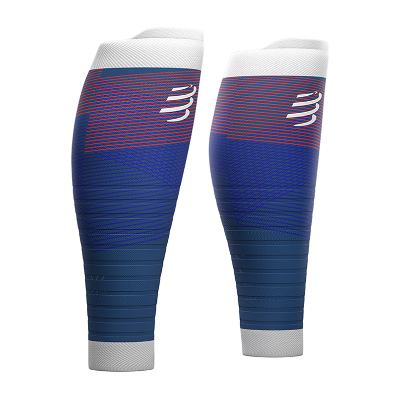 COMPRESSPORT R2 OXYGEN CALF SLEEVES (R2V2UL-5080)- BLUE