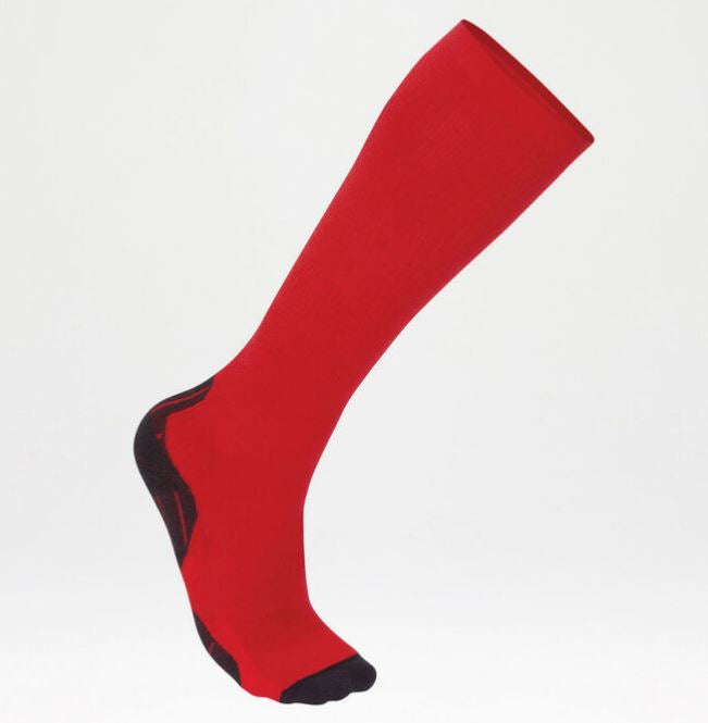 2XU Men's Thermal Compression Socks-MA3263E (RED/CHR)
