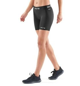 SKINS COMPRESSION DNAMIC FORCE WOMENS HALF TIGHT BLACK