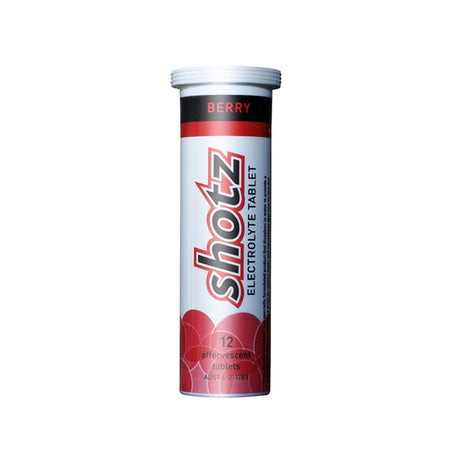 Shotz Electrolyte Tablet Berry (12 Tablets)