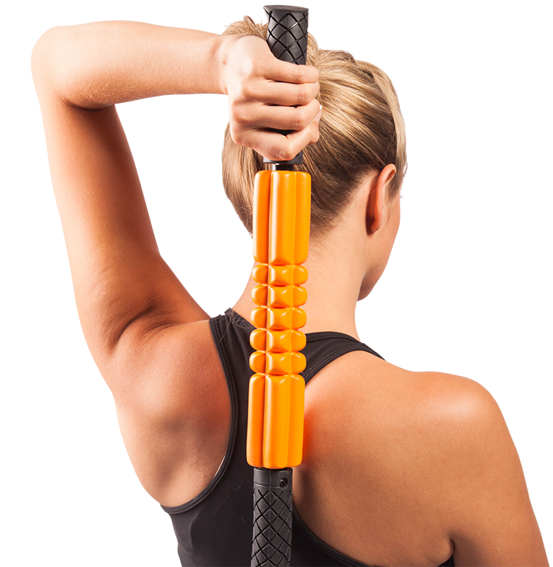 Trigger Point GRID STK Foam Roller - Orange (Regular)