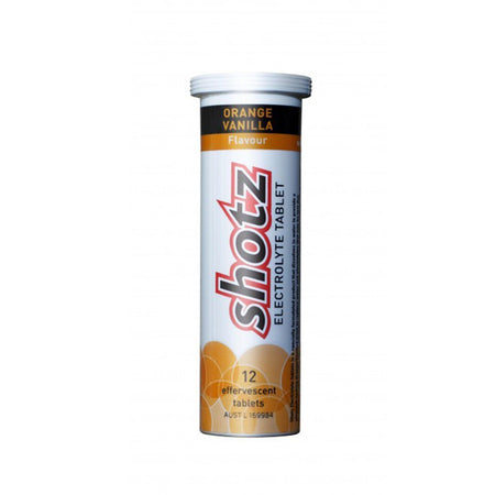 Shotz Electrolyte Tablet Orange Vanilla (12 Tablets)