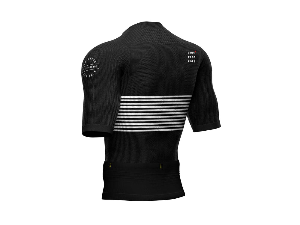 COMPRESSPORT TRI POSTURAL SS TOP - BLACK (AM00010B-990)