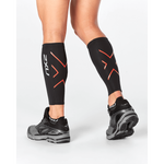 2XU Compression Calf Guards - UA1987B (BLK/CHT)