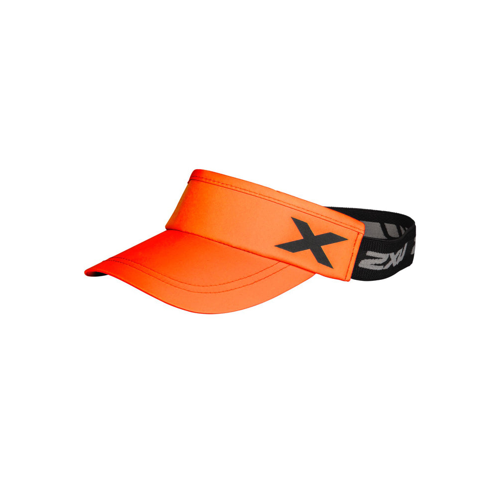 2XU Unisex Performance Visor : UQ6165F -  Flame/Black