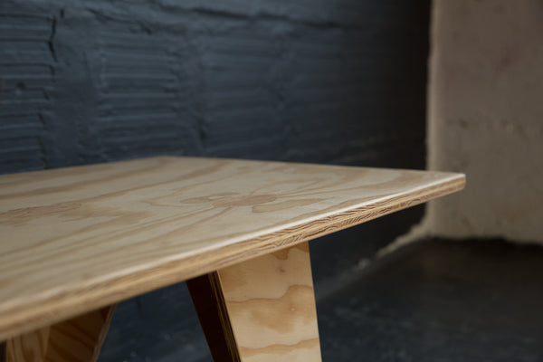 .001 PLYWOOD COFFEE TABLE