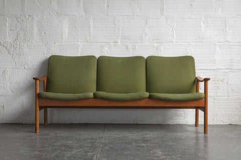 In the Style of Alf Svensson Three Seat Sofa
