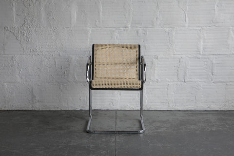 """In The Style Of Marcel Breuer"" Arm Chairs (Set of Five)"
