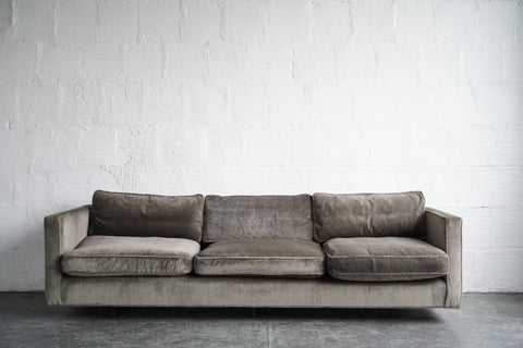Harvey Probber Gray Down Sofa