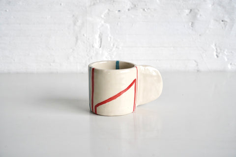 Painted Ceramic Mug