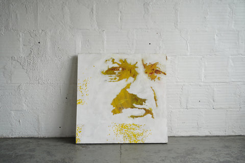 Golden Face Art
