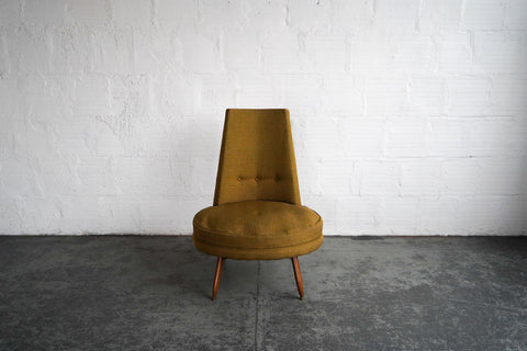 Mid-Century Modern Statement Lounge Chair