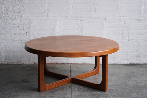 Niels Bach Teak Round Coffee Table