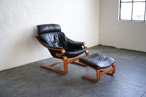 Apollo Chair and Ottoman by Svend Skipper for Skippers Møbler