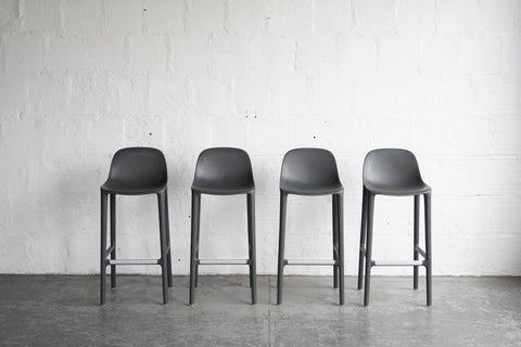 Broom Stools by Emeco + Starck - Set of Four