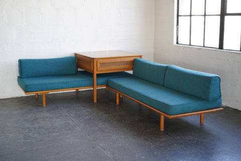 Conant Ball Sofa Set + End Table