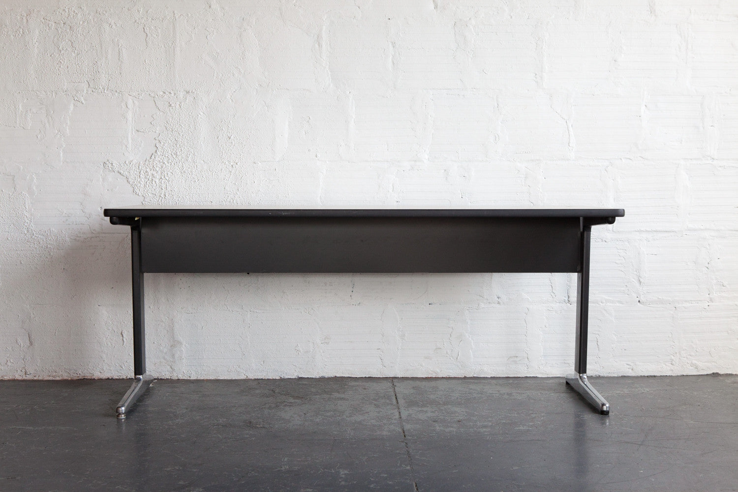 EAMES ALUMINUM GROUP WORK TABLE/DESK FRONT ...