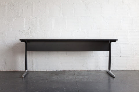 EAMES ALUMINUM GROUP WORK TABLE/DESK FRONT