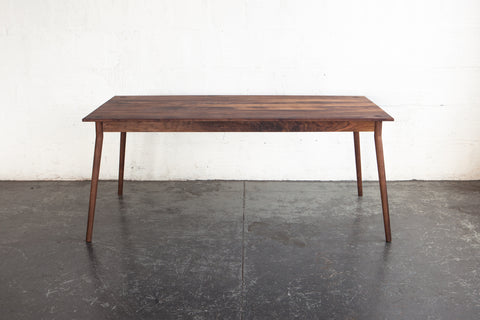 Black Walnut Dining Table by Fernweh Woodworking