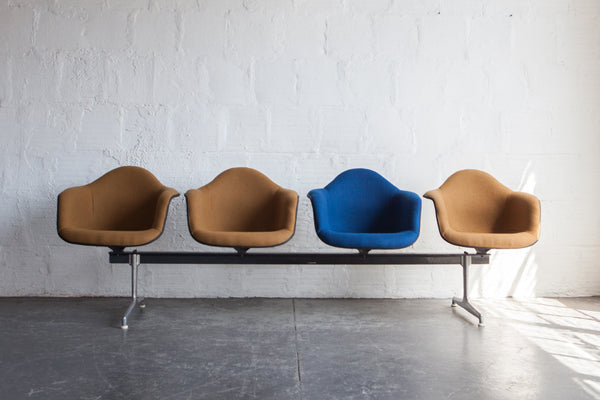Four Seat Airport Bench By Charles Amp Ray Eames Sold