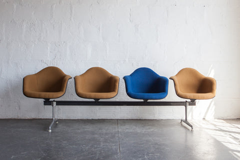 Four-Seat Airport Bench by Charles & Ray Eames (Sold)