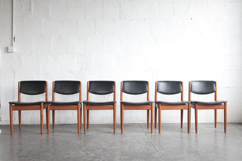 Finn Juhl Model 197 Dining Chairs (set of 6)