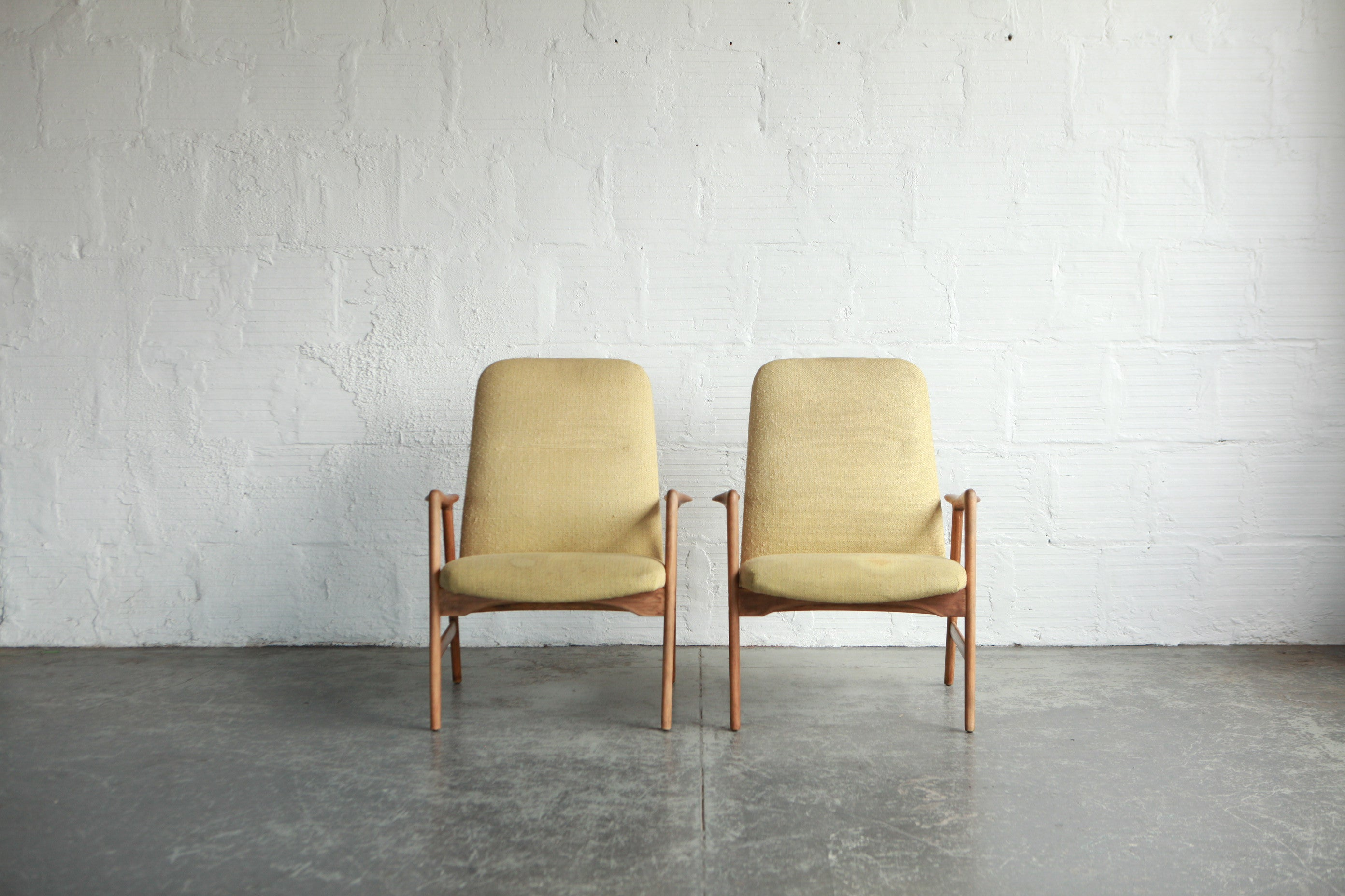 Alf Svensson Highback Lounge Chairs For Fritz Hansen The Good Mod