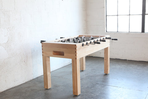 Hardwood Foosball Table