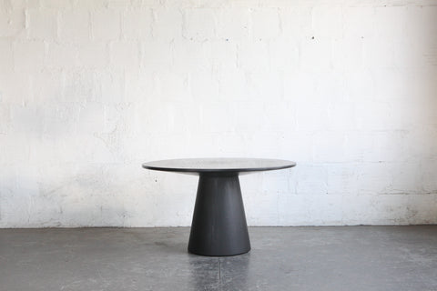 EBONIZED_HARDWOOD_LATHED_DINING_TABLE_THE_GOOD_MOD