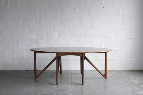 Niels Koefoed Kurt Ostervig Gate Leg Dining Table