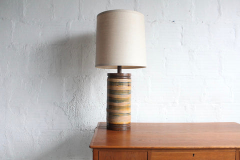Ceramic Lamp in the style of Martz
