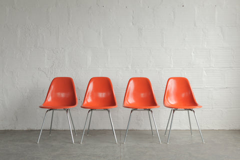 Eames Shells By Herman Miller (Set of 4)