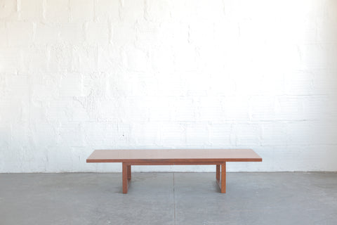 Danish Adjustable Height Coffee Table