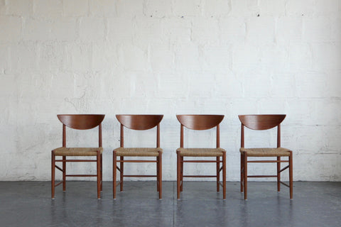 Peter Hvidt and Orla Mølgaard-Nielsen Model 317 Dining Chairs