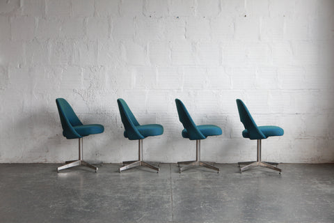 Eero Saarinen Model 72 Chairs (Set of Four)