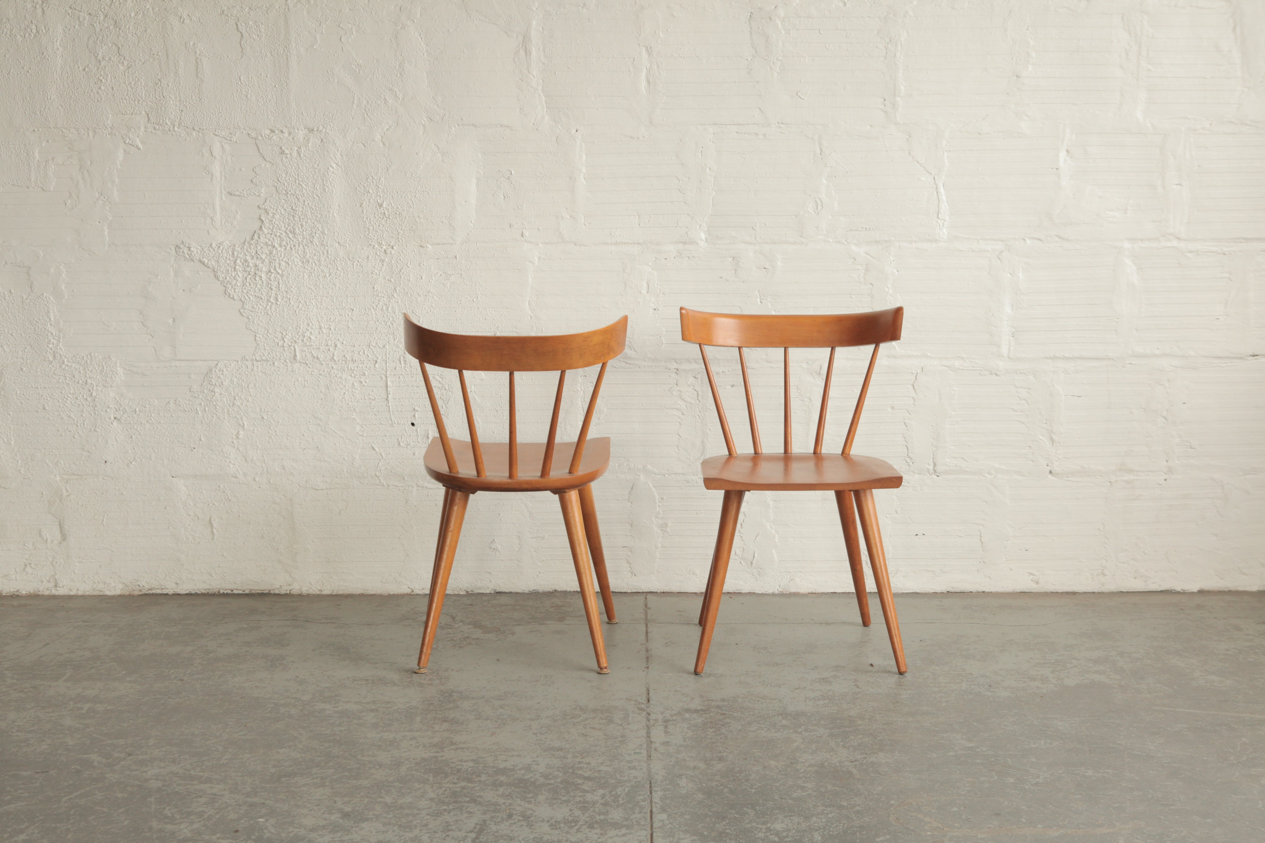 Paul Mccobb Planner Group Dining Chairs The Good Mod