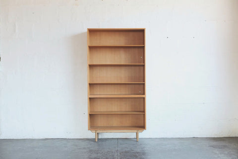 Tall Oak Bookshelf